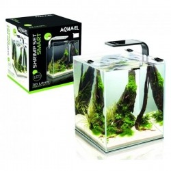AQUAEL krewetkarium SHRIMP SET SMART 2 10l czarny