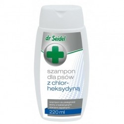 Dr Seidel szampon dla psa z chlorheksydyną 220ml