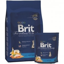 BRIT CAT KITTEN CHICKEN z kurczakiem 300g